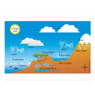 water cycle postcard assignment