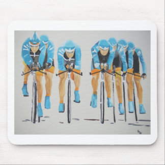 Cycle race mouse pad