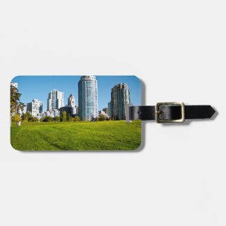 Cycle Through the Park Luggage Tag