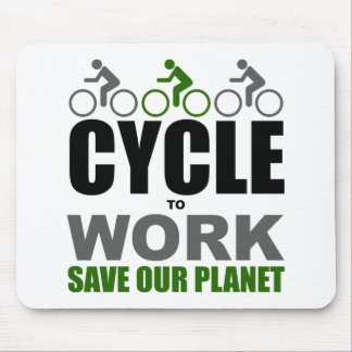 Cycle To Work Mouse Pad