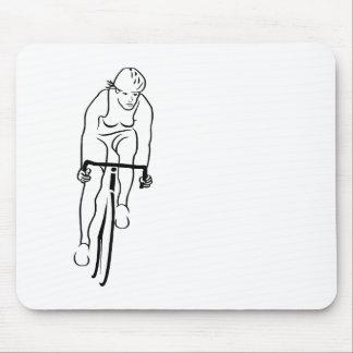 Cycle Woman Mousepads