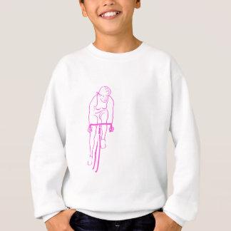 Cycle Woman pink Sweatshirt
