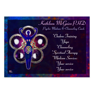 Cycles 3D Goddess Worship MEDIUM PSYCHIC LIGHTWORK Pack Of Chubby Business Cards