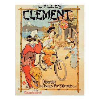 Cycles Clement Pre Saint-Gervais Postcard