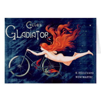 Cycles Gladiator, Georges Massias Card