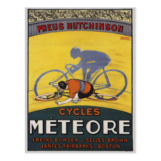 CYCLES METEORE POSTCARD