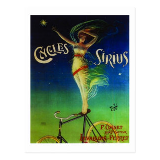 Cycles Sirius Post Card