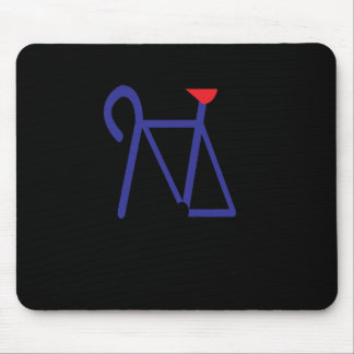 Cycling 3 mouse pad