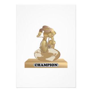 Cycling Champion Card