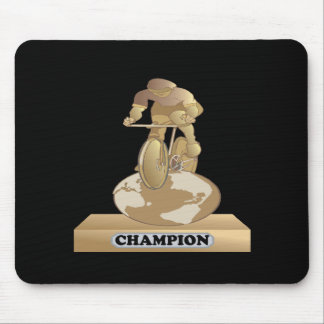 Cycling Champion Mouse Pad