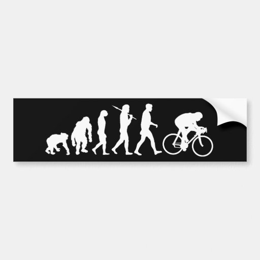 Cycling Cyclists pedal power Racing Bicycle gifts Bumper Stickers