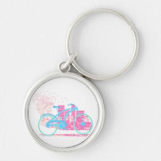 Cycling Design Key ring Key Chains