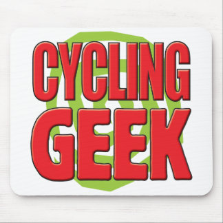 Cycling Geek Mouse Pad