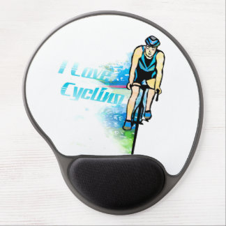 Cycling Gel Mouse pad