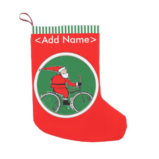 Cycling Holidays Small Christmas Stocking