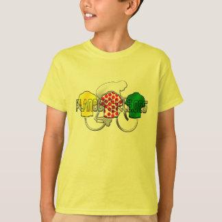 Cycling Jerseys Yellow Green and Red Polka Dot T Shirts