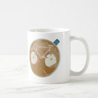 Cycling Latte Art Coffee Mug
