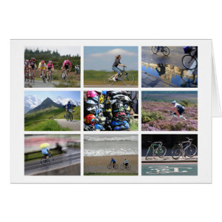 Cycling-lover's card