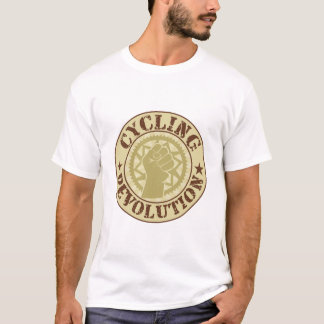 Cycling revolution badge T-Shirt