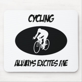 cycling sports designs mouse pads