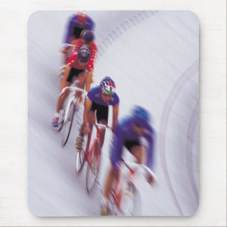 Cycling Track Race Bicycle Cycle Bicycling Mouse Pad