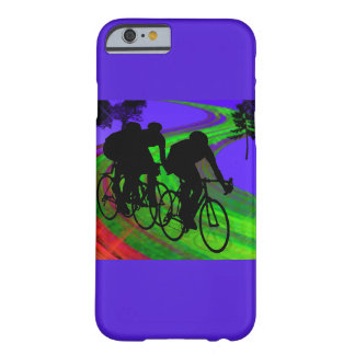 Cycling Trio on Ribbon Road Barely There iPhone 6 Case