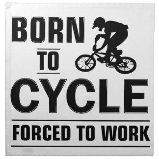 Cycling Tshirt Napkin