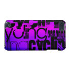 Cycling; Vibrant Violet Blue and Magenta iPod Touch 5G Cover