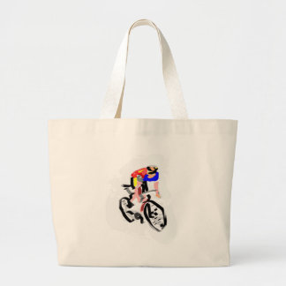 Cyclist 30122017 01 large tote bag