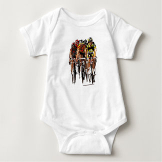 cyclist baby bodysuit