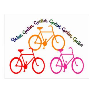 Cyclist Gifts, Biking Mania! Postcard