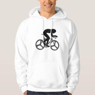 Cyclist Silhouette Hoodie