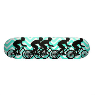 Cyclist Skateboard