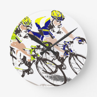 cyclist wallclock