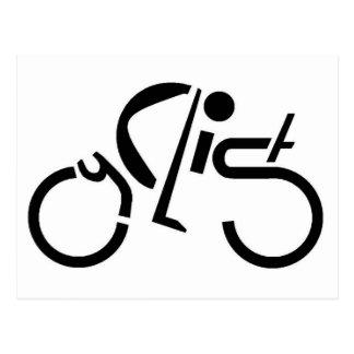 cyclistjpg2.JPG Postcard