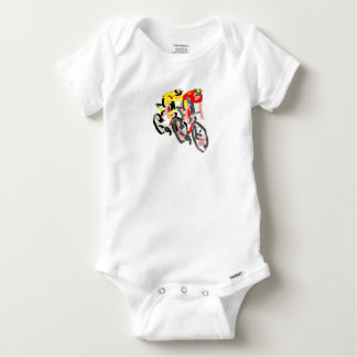Cyclists Baby Onesie
