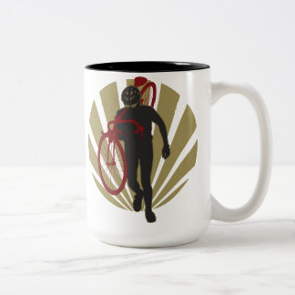 Cyclocross Soldier Mug