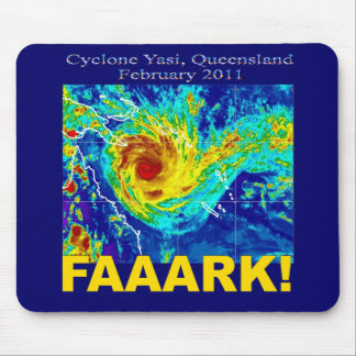 Cyclone Yasi, Queensland, February 2011 Mouse Mat