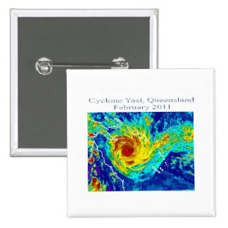 Cyclone Yasi, Queensland, February 2011 Pin