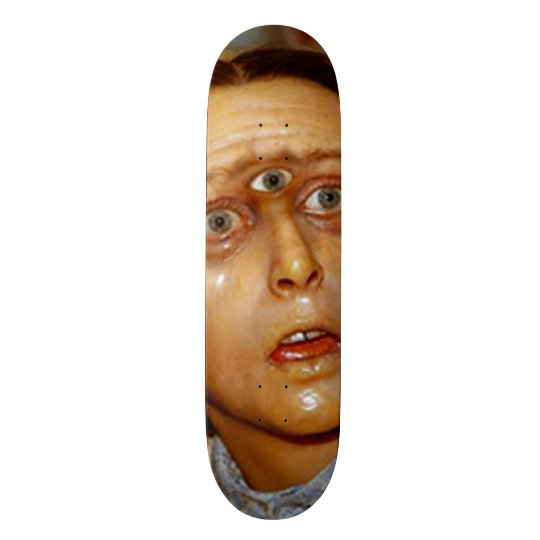 Cyclops Gomer Girl Custom Pro Park Board Skateboards