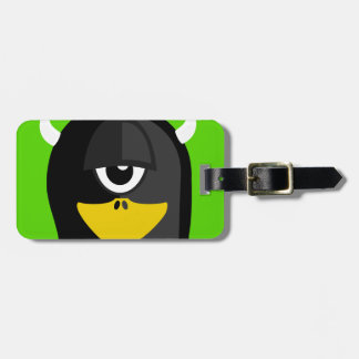 Cyclops Penguin Luggage Tag