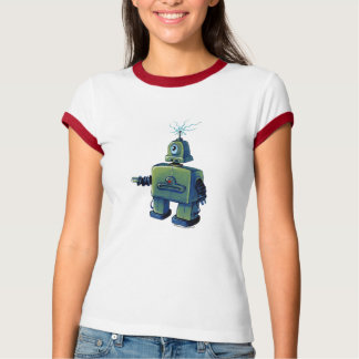 Cyclops Robot with Static T-Shirt