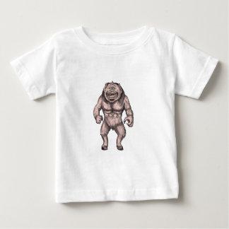 Cyclops Standing Tattoo Baby T-Shirt