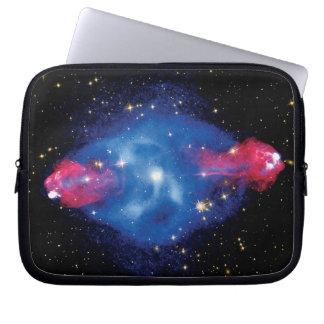 Cygnus A Galaxy X-Ray Montage Laptop Sleeves