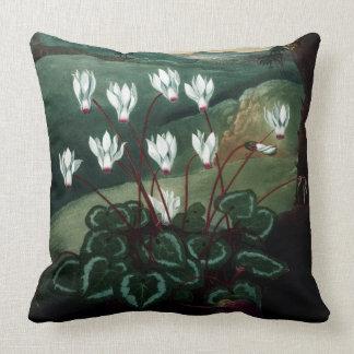 Cyklamen pillow complete painting
