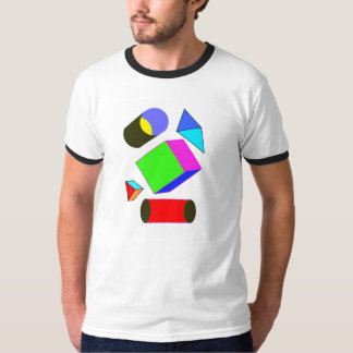 Cylinders and cube T Shirt
