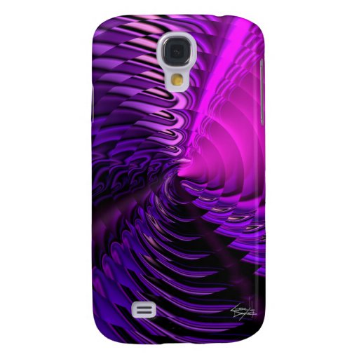 Cymbal Designer 3G iPhone Skin (Cerise) Samsung Galaxy S4 Covers