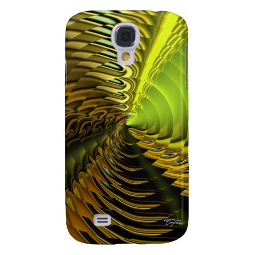 Cymbal Designer 3G iPhone Skin (Citron) Galaxy S4 Cases