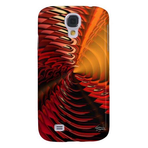 Cymbal Designer 3G iPhone Skin (Vermillion) Samsung Galaxy S4 Cover