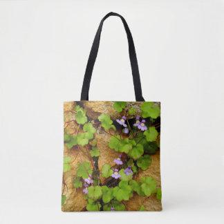 Cymbalaria Muralis All Over Print Tote Bag
